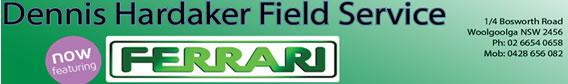 Dennis Hardaker Banner