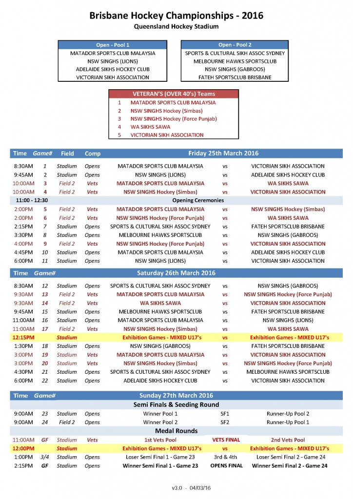 Hockey Fixtures - Brisbane 2016_ALL_FINAL_v3.0