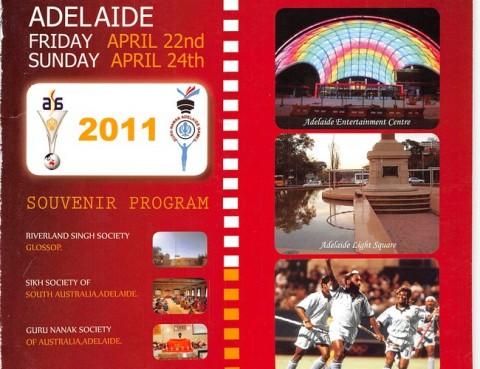 Australian Sikh Games Adelaide 2011