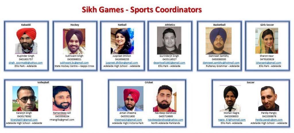 Sports Coordinators