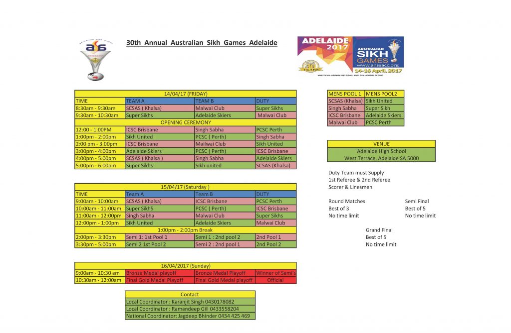 Sikh_Games_Mens_Volleyball_Draw_2017